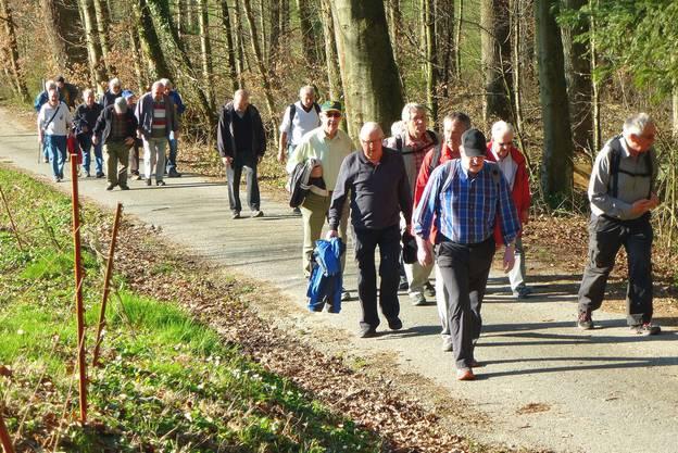 Aufwärts gehts zur Schönenwerderstrasse in Gretzenbach