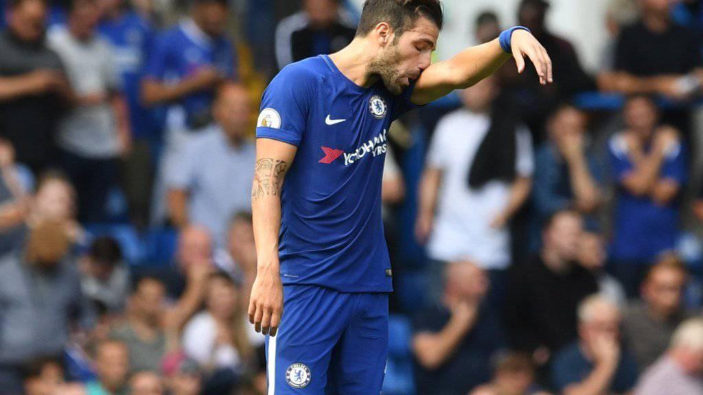 Cesc Fabregas und Chelsea zogen eine bittere Heimniederlage zum Saisonstart ein