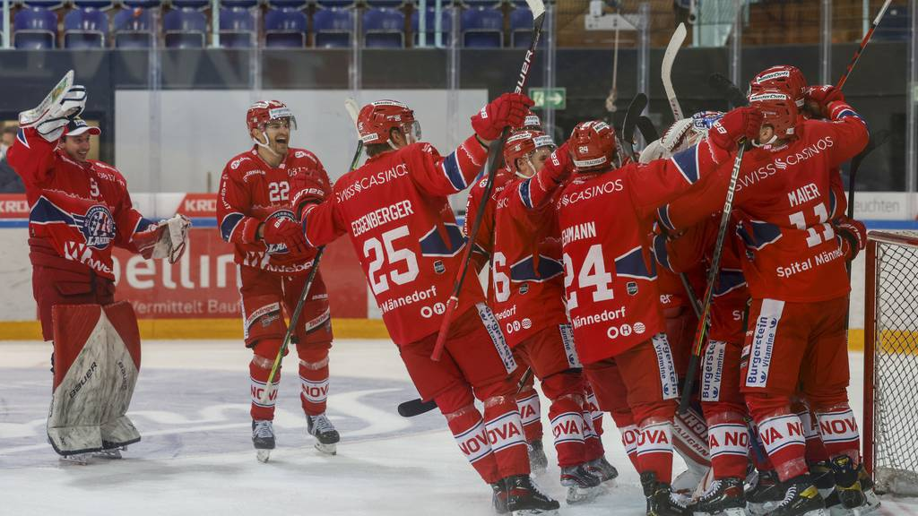 Rapperswil-Jona Lakers schlagen Biel und sind in Playoffs