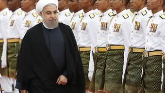 Dürfte zufrieden sein ob der jüngsten Entwicklung in den USA bezüglich der Sanktionen gegen sein Land: Irans Präsident Ruhani. (Archivbild)