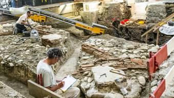 Ausgrabungen Spiegelhof