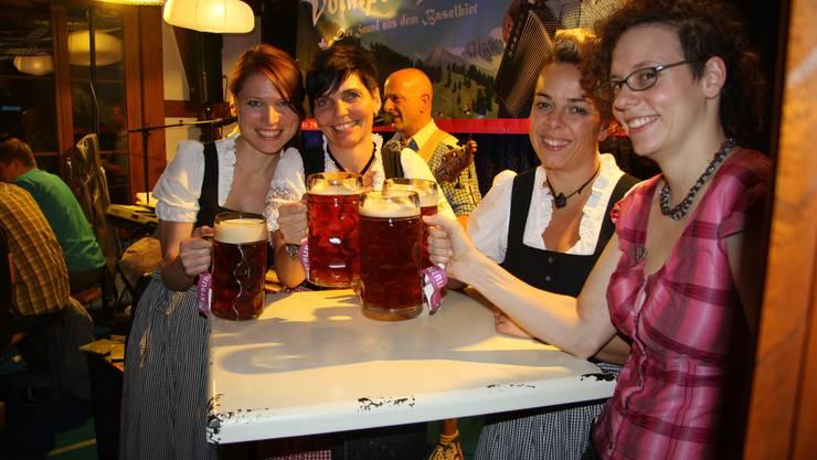 Ein Prost auf das Bucheggberger Bierfest.