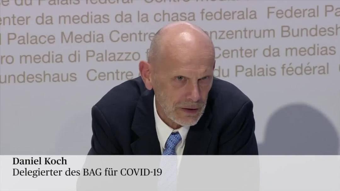 """BAG-Koch: """"Grosseltern können ohne Gefahr die Kleinkinder an sich drücken"""" (27.4.2020)"""