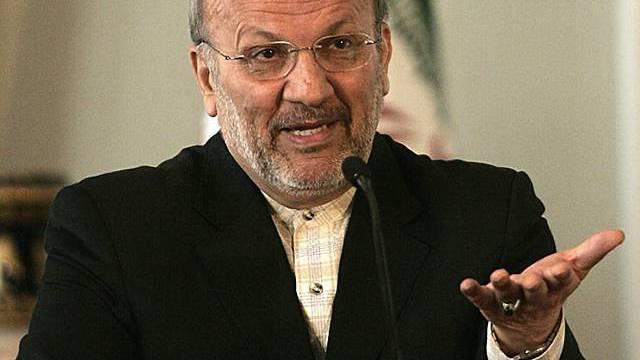 Irans Aussenminister Mottaki (Archiv)