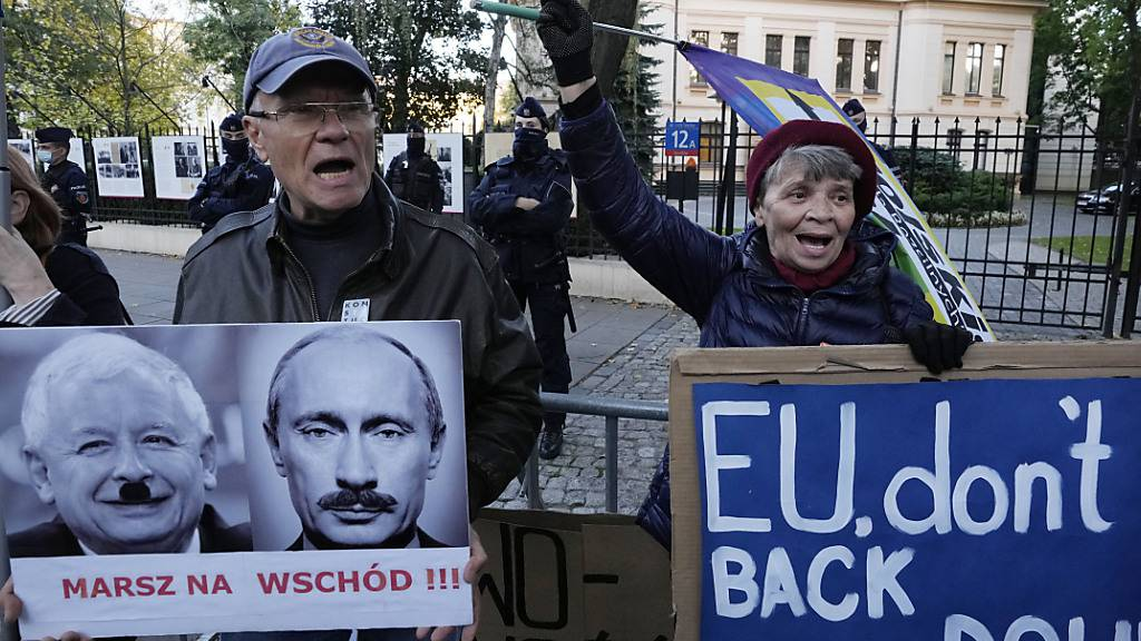 Polen zur Einhaltung der EU-Regeln aufgefordert - Proteste erwartet