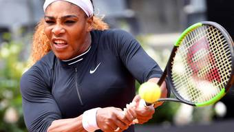 Serena Williams nahm am WTA-Premier-Turnier in Rom die erste Hürde