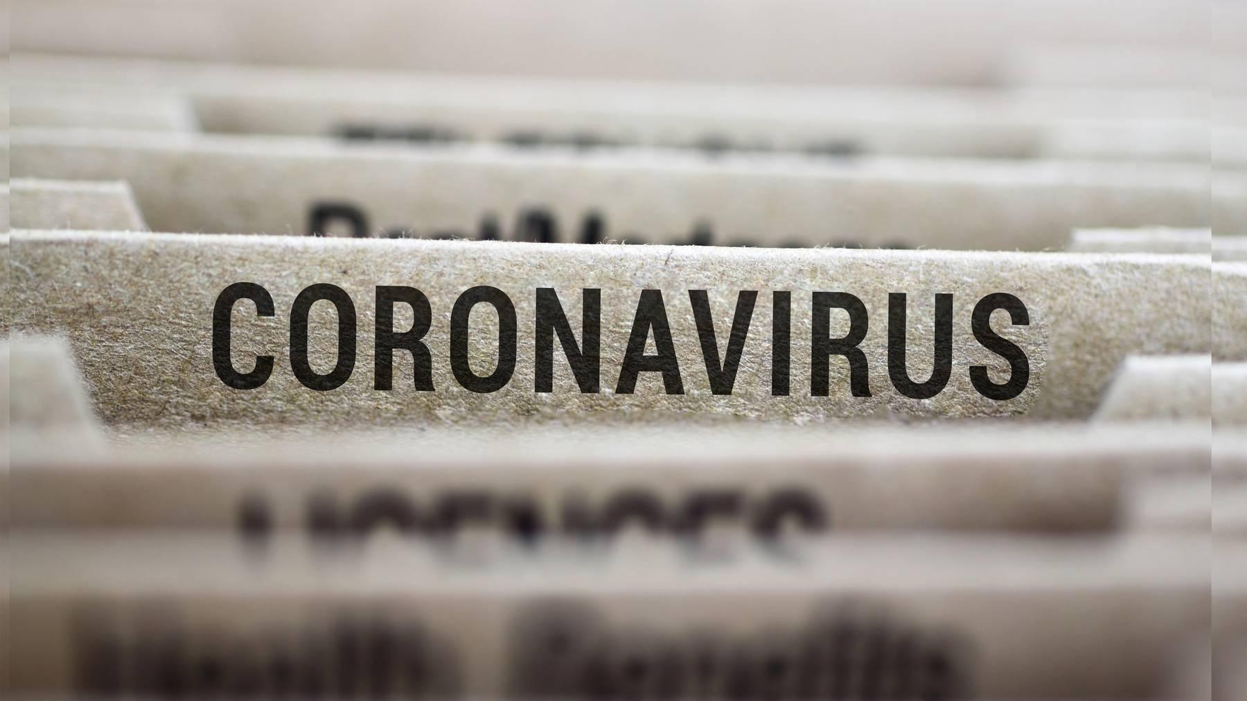 Die Akte «Coronavirus»