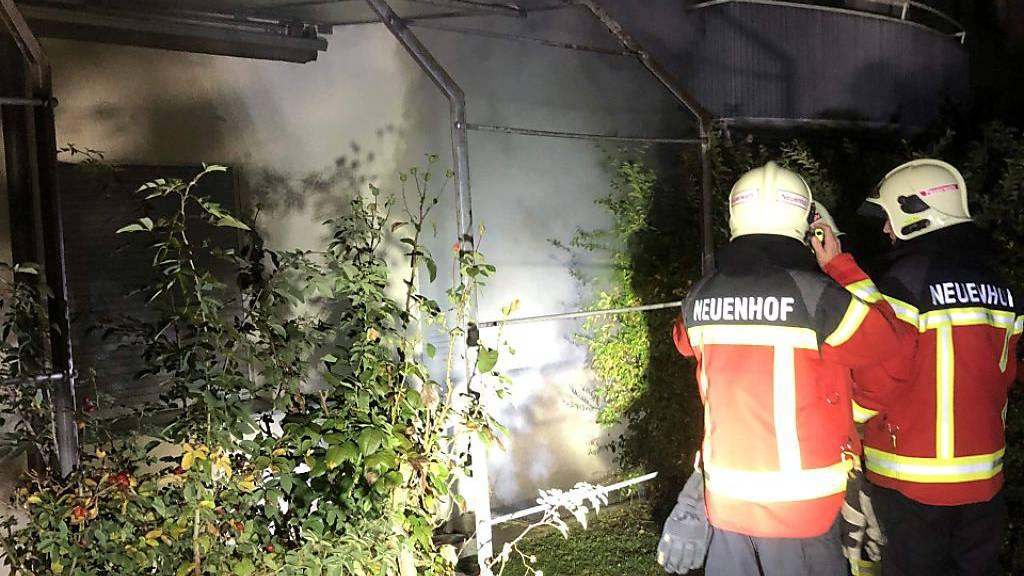 «Wir werfen dem Beschuldigten mehrere Brandstiftungen vor»