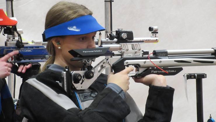 Gold und Schweizerrekord für Gewehrschützin Larissa Donatiello