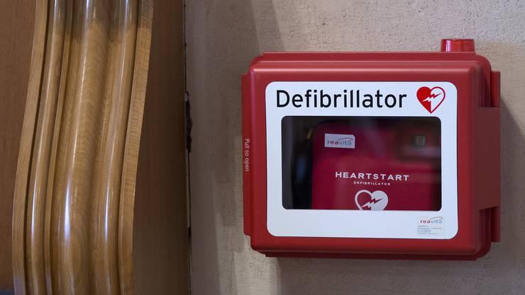 Der Defibrillator der Herzstiftung Olten wurde gestohlen (Symbolbild)