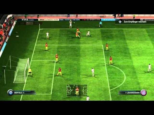 So zockt Boller im Final der virtuellen Bundesliga 14/15 in Hamburg gegen Georg Raffelt