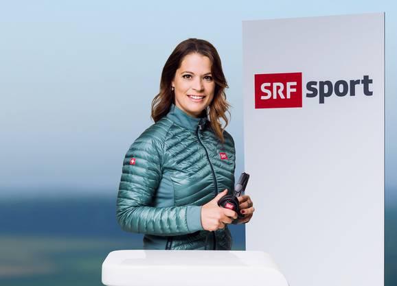 Michèle Schönbächler: Kommentatorin Curling, Orientierungslauf, Pferdesport, Ski alpin (Frauen) | Reporterin Ski Alpin