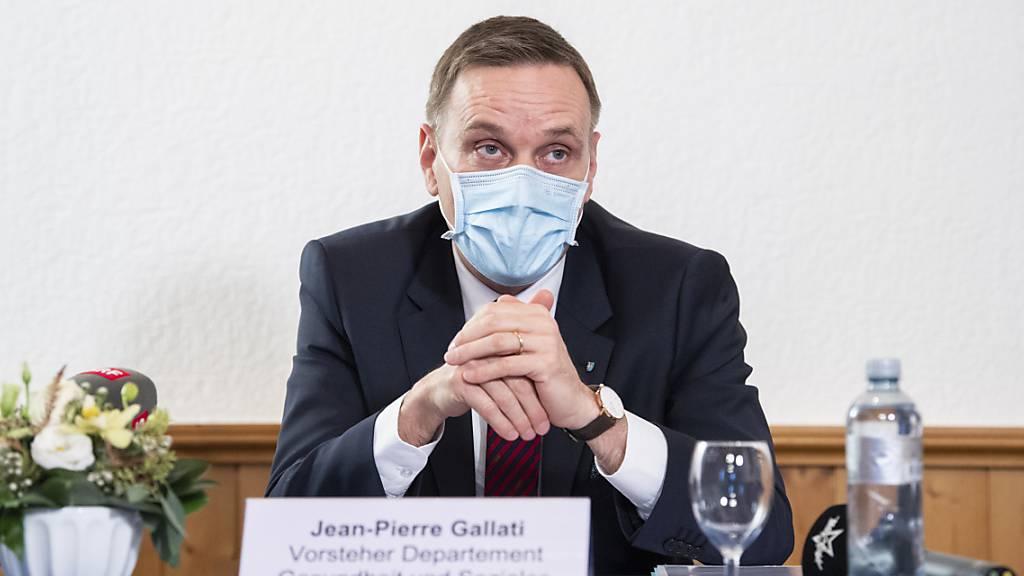 Laut Regierungsrat Jean-Pierre Gallati ist der Standort in Aarau eine optimale Lösung. (Archivbild)