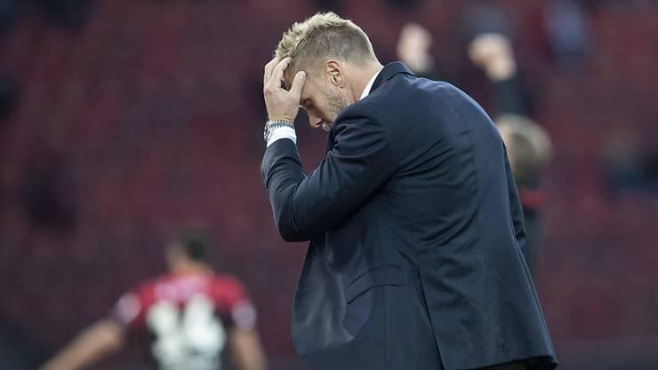 Zeit bei GC abgelaufen: Coach Thorsten Fink