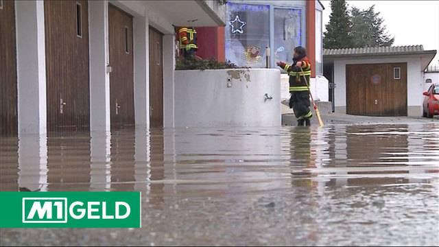 Wasserschäden — Teures Unwetter