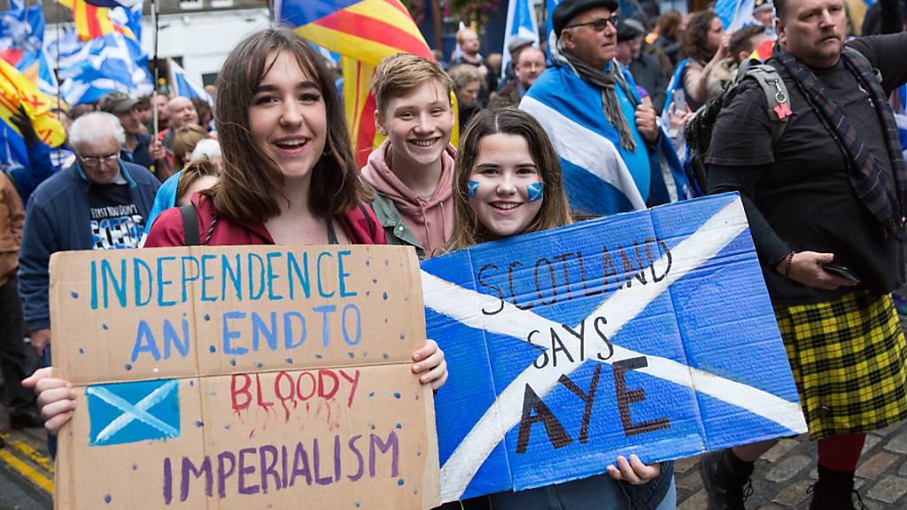 Schottische Regierungschefin plant Unabhängigkeitsreferendum