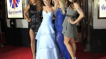 """Viva Forever"" - die Spice Girls Mel B., Geri Halliwell, Emma Bunton und Mel C (v.l.) in London"