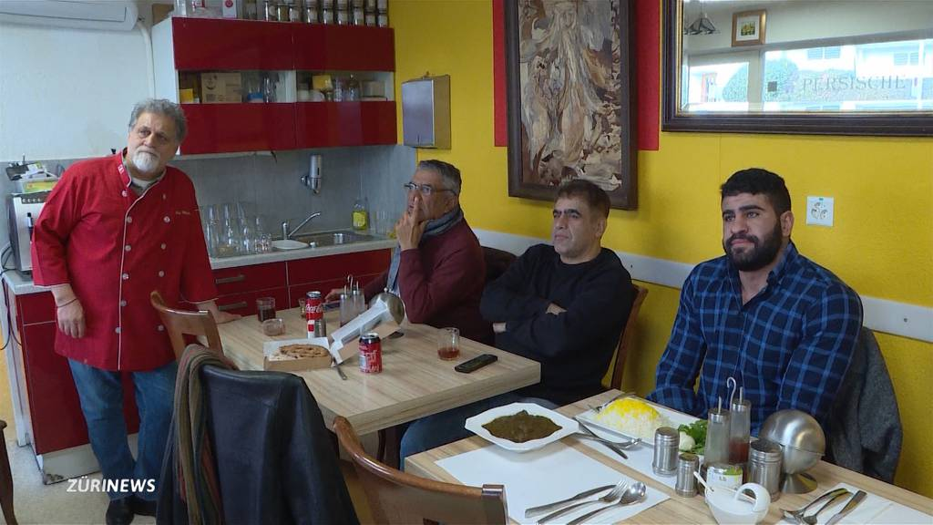 Iran-Krise: Iraner in Zürich trotz Entschärfung besorgt