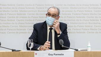 Bundespräsident Guy Parmelin.