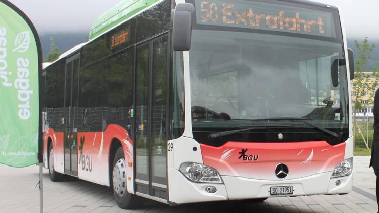 So oder so ähnlich werden die neuen Busse von Mercedes-Tochter Evobus aussehen (Symbolbild).