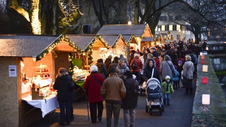Der Wiehnachtsmäret - ein wahres Volksfest