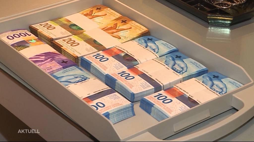 Beute von Geldtransporter-Überfall im Oberaargau aufgetaucht