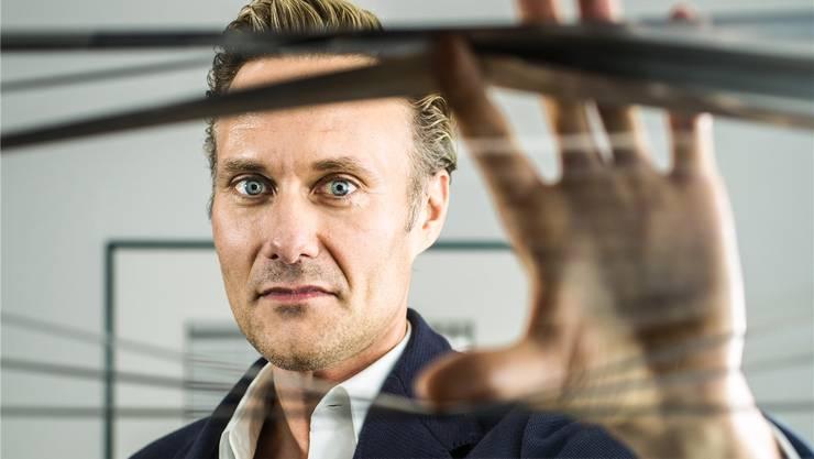 TV-Macher Dominik Kaiser investiert in eine Schweizer Krimiserie. Chris Iseli