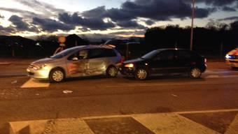 Verkehrsunfall am Weihnachtstag in Lenzburg