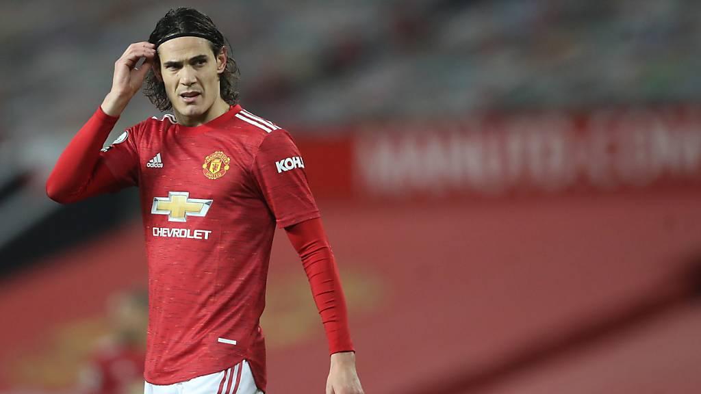 Für angeblich rassistischen Social-Media-Beitrag hart bestraft: Edinson Cavani fehlt Manchester United drei Spiele