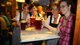 Das Bucheggberger Bierfest: Solche Anlässe sollen künftig vermehrt nach aussen getragen werden und für noch mehr Frequenz sorgen. (Archiv)
