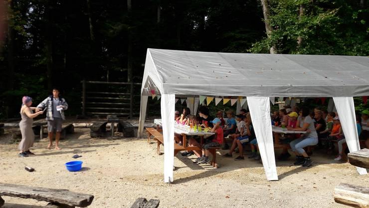 "41 Kinder nahmen am Lager teil, das unter dem Motto ""Arche Noah"" stand."