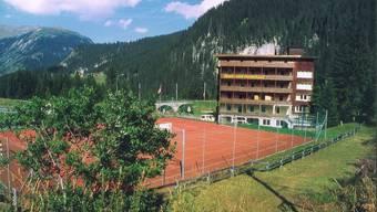 Das «Valbella» in Litzirüti war während Jahrzehnten Sport- und Ferienheim der Stadt Baden. Ho