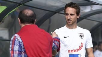 Die Führungscrew des FC Aarau