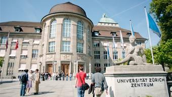 Die Universität Zürich erhält über eine Zehn-Jahres-Periode drei Millionen Franken von der Credit Suisse. (Archiv)