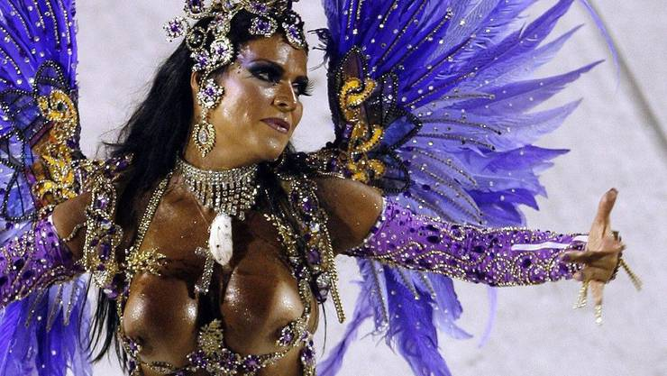 So schön ist der Karneval in Rio