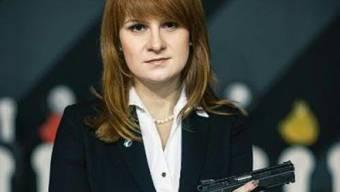 Die russische Agentin Maria Butina ist nach anderthalb Jahren in US-Haft entlassen worden. (Archivbild)