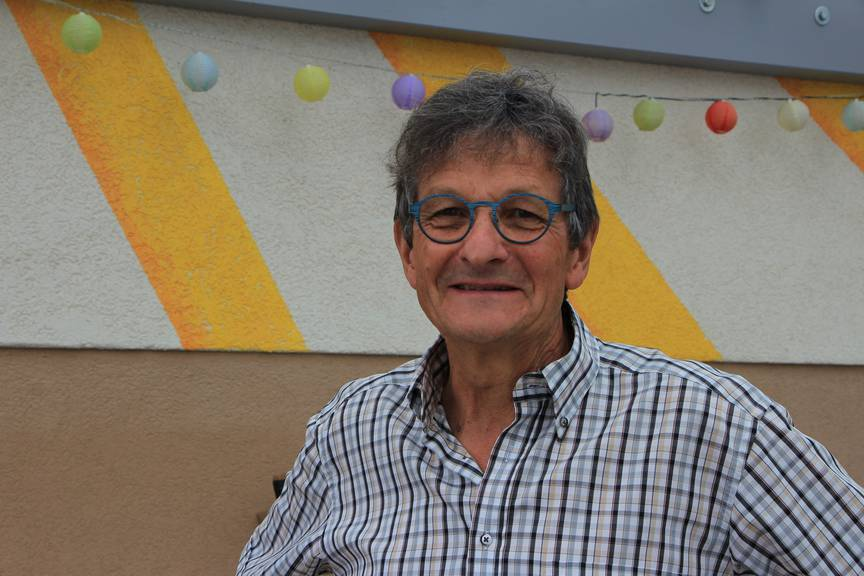 Mario aus Widnau hat schon einmal ein Hochwasser erlebt. Seitdem ist sein Haus geschützt. Das Wasser fürchtet er trotzdem. (Bild: FM1Today/Fabienne Engbers)