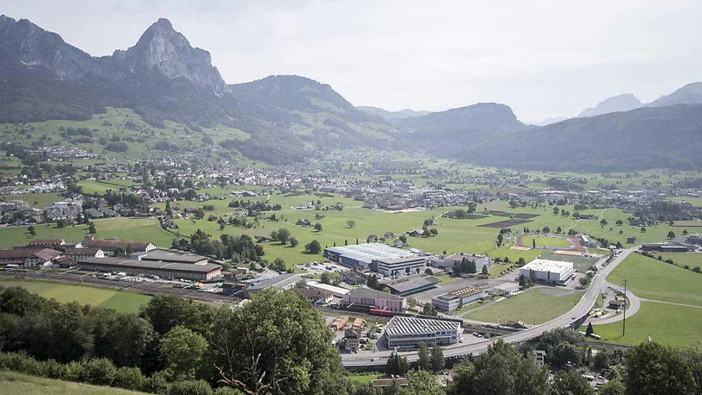 Das Projekt «Muotabrücke West» ist Grundlage für die Arbeitsplatzentwicklung der Gemeinde Schwyz. (Archivbild)