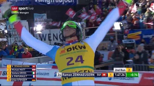Zenhäusern verpasst Slalom-Podest knapp