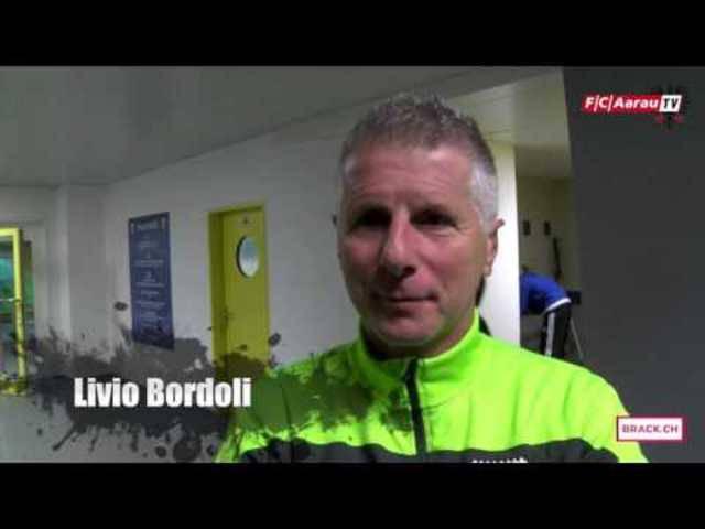 FC Lausanne-Sport - FC Aarau: Interviews mit Torhüter Steven Deana sowie mit Cheftrainer Livio Bordoli