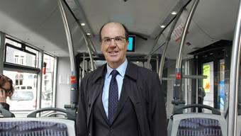 VBZ-Direktor Guido Schoch tritt bald seine Pension an.