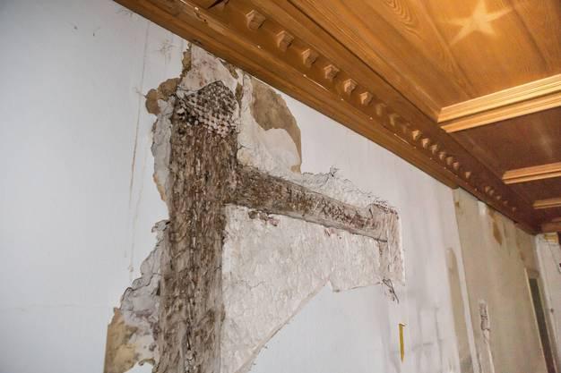 Diese alten Balken sollen erhalten bleiben