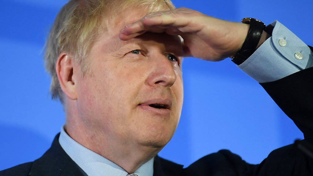 Ministerpräsidents-Kandidat Johnson will spätestens am 31. Oktober aus der EU austreten.