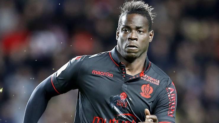 Mario Balotelli traf für Nice auf dem Weg zum Heimsieg gegen Bordeaux zum wichtigen Ausgleich