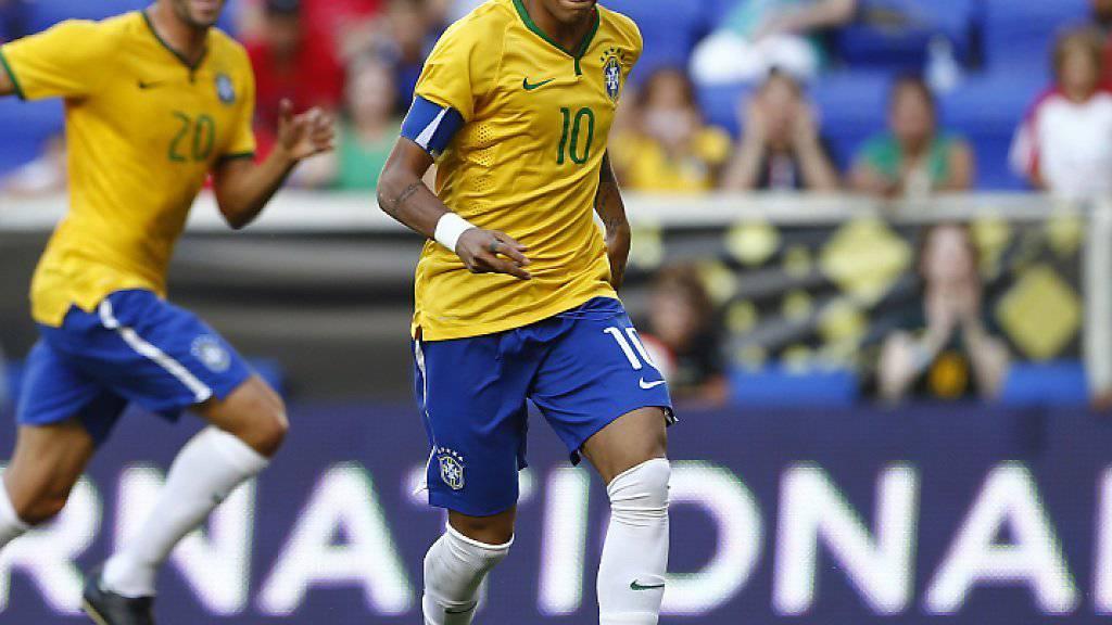 Brasilien wird zu Beginn der WM-Qualifikation ohne seinen Starstürmer Neymar auskommen müssen