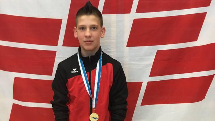 Timo Schmid brillierte bei den U15 National Knaben. Er sicherte sich seinen ersten Sieg.