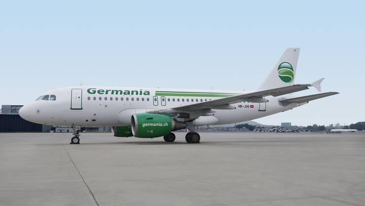 Die Fluggesellschaft Germania hat Insolvenz beantragt und stellt mit sofortiger Wirkung ihren Flugbetrieb ein. (Archivbild)