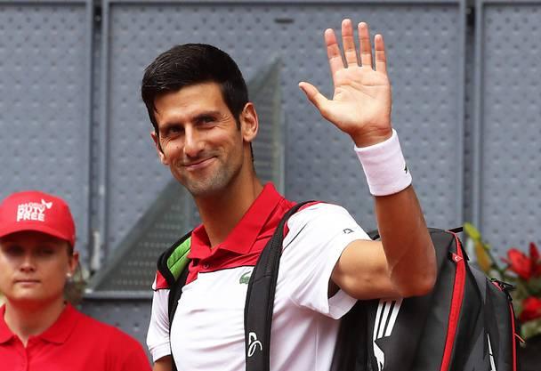 Novak Djokovic strebt in Roland Garos den nächsten Sieg an.