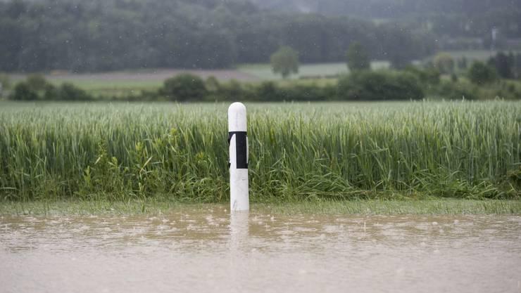 Der Stauseecup fiel den Wassermassen zum Opfer.