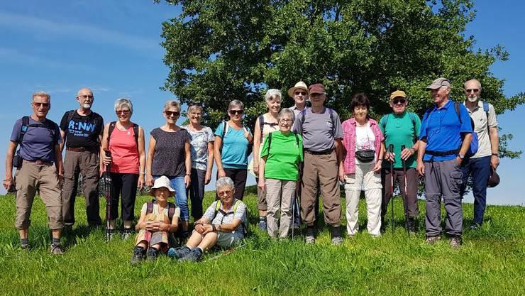 Chropftuube Senioren Neuendorf wandern im Emmental